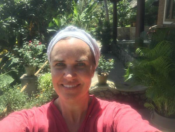 Amanda Hobley in Kerala