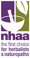 Member of the NHAA - the First Choice for Herbalists & Naturopaths